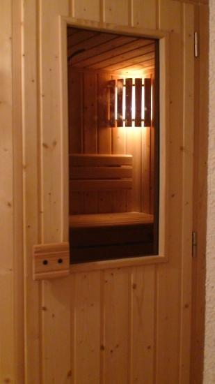 Coucou...le Sauna